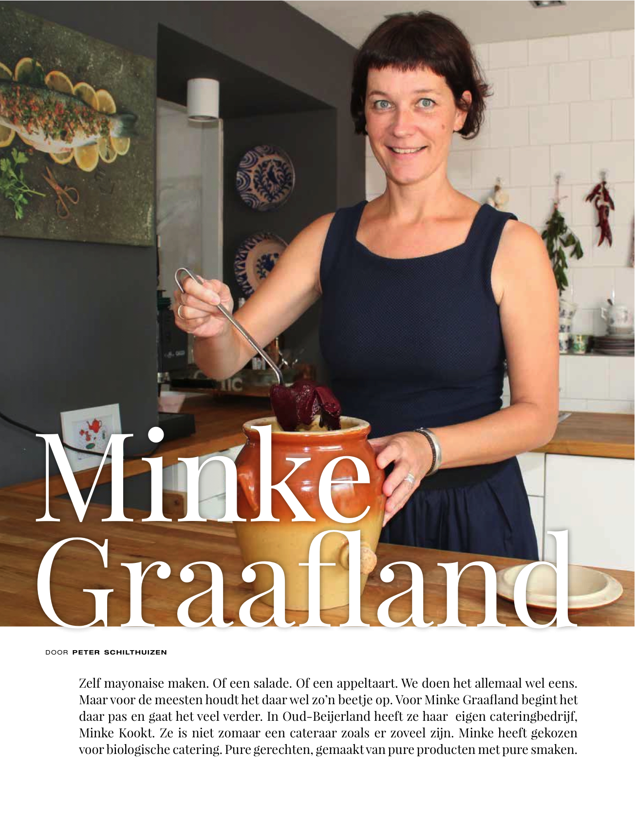 Interview met Minke Kookt in Glans Magazine!